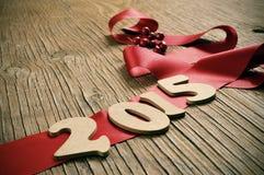 2015, comme nouvelle année Photo stock