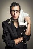 Comme un téléphone Photo libre de droits