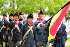 Commemorate the battle for Independence of Belgium Royalty Free Stock Image