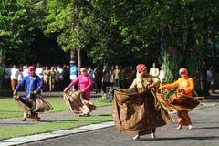 Commemorating the batik day Royalty Free Stock Image