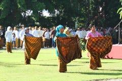 Commemorating the batik day Royalty Free Stock Photo