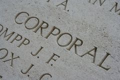 Commemoration Royalty Free Stock Images