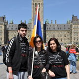 Commemoration of Armenian Genocide Stock Images
