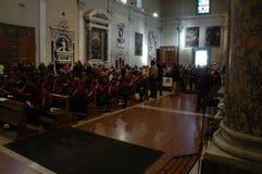 Commemoration of the death Morosini Stock Photos