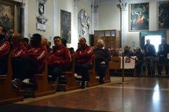 Commemoration of the death Morosini Stock Image