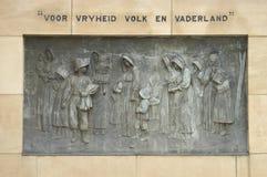 Commemorative bronze plaque 1 Stock Photo