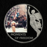 Commemorative coin of Hungarian revolution 1956 Royalty Free Stock Photos