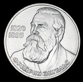 Commemorative coin USSR one ruble. Stock Images