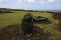 Commemorative location for Hawaiian Culture on Hawaii Royalty Free Stock Photos