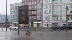 Commemorative Plaque For The Victims of The Concentration Camps In Berlin