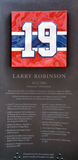 Commemorative plate 19 of Larry Clark Robinson Stock Photography