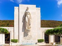 Commemorative Statue, punchbowl royalty free stock image