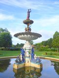 Commemorative Victorian water fountain. In Vivary Park in the town of Taunton in Somerset, England Stock Photos