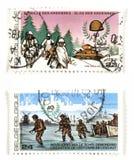 Commemoratives de la deuxième guerre mondiale Images libres de droits