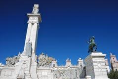 Commemorazione della prima costituzione spagnola Immagine Stock