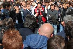 Commemorazione Morosini di gioco del calcio di Livorno Immagine Stock Libera da Diritti