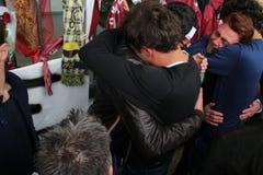 Commemorazione Morosini di gioco del calcio di Livorno Fotografia Stock Libera da Diritti