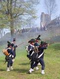 Commemorazione napoleonica di battaglia Immagini Stock Libere da Diritti