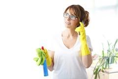 Commencer à nettoyer Image libre de droits