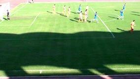 Commencer de match de football du football banque de vidéos
