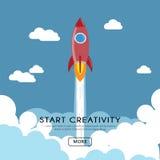 Commencez la créativité Photographie stock