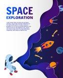 Commencez le concept d'affaires et l'idée d'exploration, l'art de vecteur et l'I illustration de vecteur
