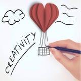 Commencez vos idées viennent vrai - créativité images stock