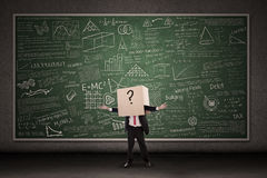 Comment choisir l'éducation correcte ? Image stock