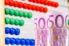 Comment contrôler des finances Image stock