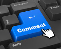 comment Stock Photography