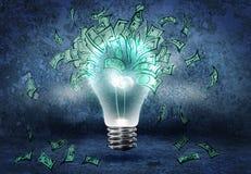 Comment gagner l'argent ? Images libres de droits