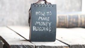 Comment gagner l'argent blogging clips vidéos