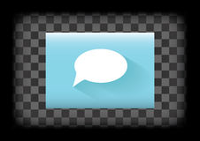Comment icon Royalty Free Stock Photos