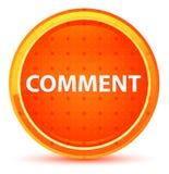 Commentaar Natuurlijke Oranje Ronde Knoop royalty-vrije illustratie