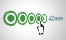 Commentaires des consommateurs Photo stock