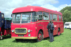 1956 Commer Avenger bus. Royalty Free Stock Photos