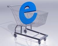 Commerce électronique illustration de vecteur