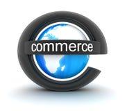 Commerce électronique de symbole illustration libre de droits