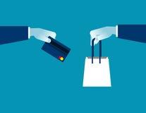Commerce électronique en ligne d'achats 24 heures de service de support à la clientèle Images stock