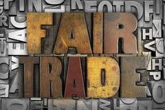Commerce équitable photo libre de droits