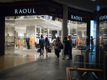 Commerce au détail de Raoul Photos stock
