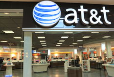 Commerce au d?tail d'AT&T Image libre de droits
