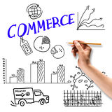 Commerce business Royalty Free Stock Photo