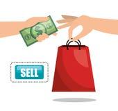 commerce concept design Stock Images