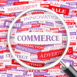COMMERCE Stock Photo