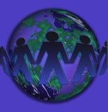 Commerce conceptuel du monde illustration stock