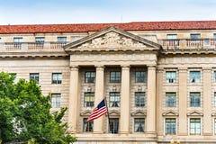 Commerce Department Secretary`s Entrance Washington DC Stock Photography