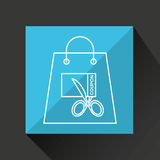 Commerce discount coupon money icon. Vector illustration eps 10 Stock Image