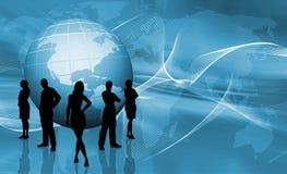 Commerce du monde illustration libre de droits