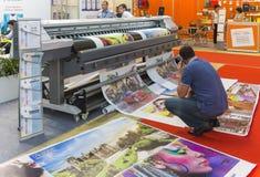Commerce international REKLAMA juste Photographie stock libre de droits